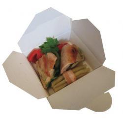 Boîte avec fermeture : lunch box ou doggy bag
