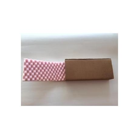 Etui fourreau brun + mousse antistatique