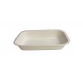 Barquette cuisson blanche 585 ml