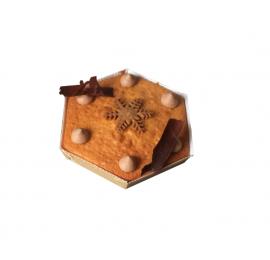 Moule cuisson hexagonal : 125 x 25 mm