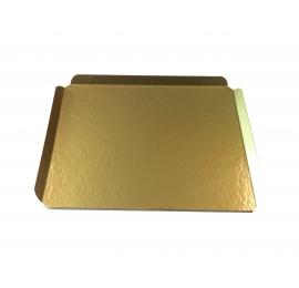 Grand plateau doré 349 x 270 x 20 mm